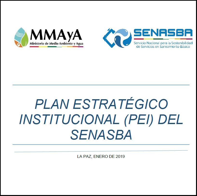 PEI Plan Estratégico Institucional