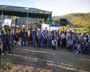 Se da inicio a la construcción de la aducción de Misicuni en la cual SENASBA desarrolla la gestión social del proyecto