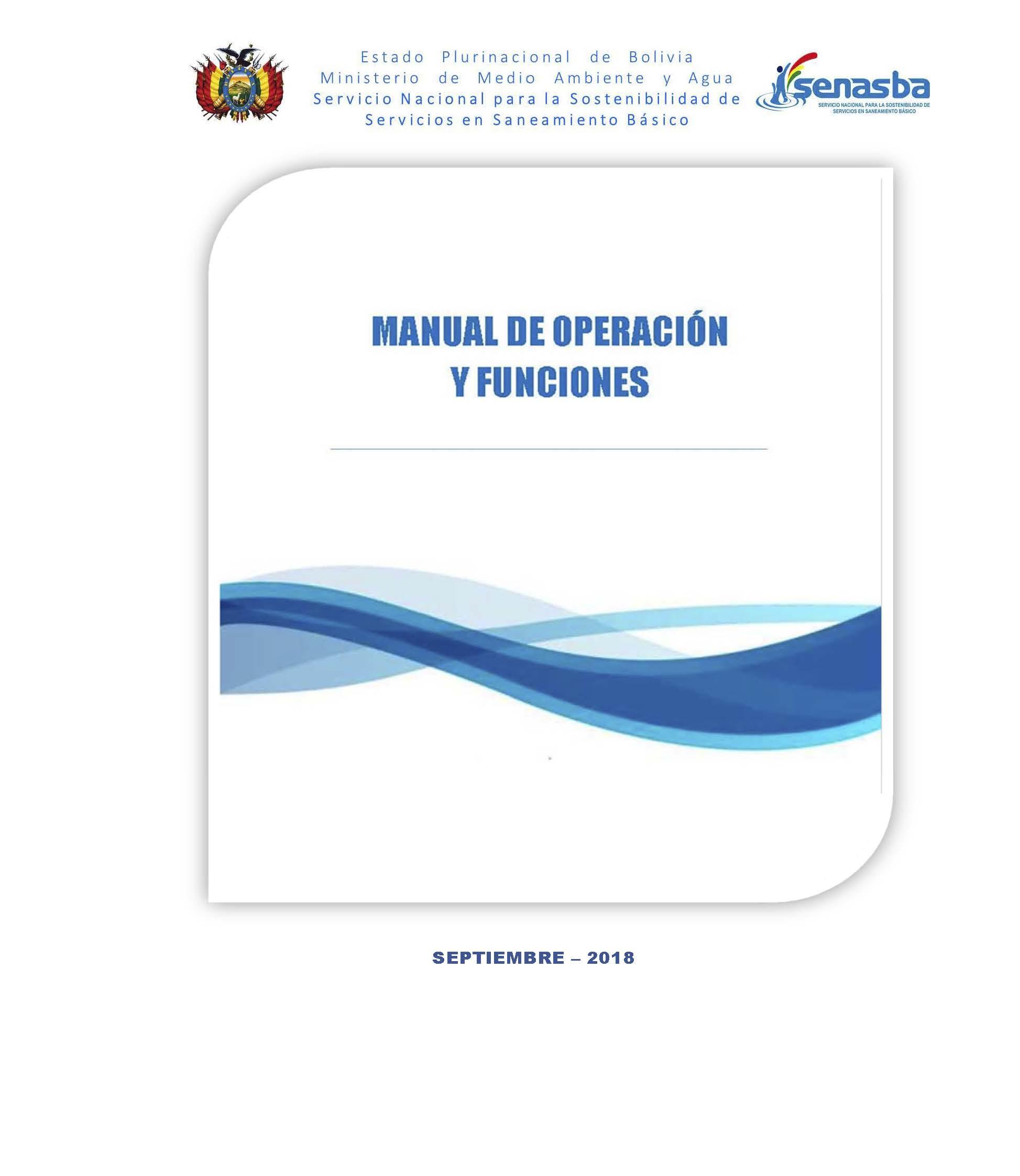 Manual de Operaciones y Funciones