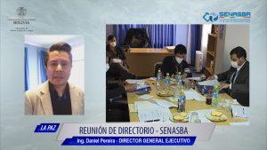 SEGUNDA REUNIÓN ORDINARIA DEL DIRECTORIO DE SENASBA
