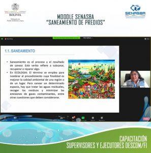 """CAPACITACIÓN DE """"SANEAMIENTO DE PREDIOS"""", CORRESPONDIENTE AL MÓDULO """"PLANIFICACIÓN Y ORGANIZACIÓN DEL DESARROLLO COMUNITARIO –FORTALECIMIENTO INSTITUCIONAL"""""""