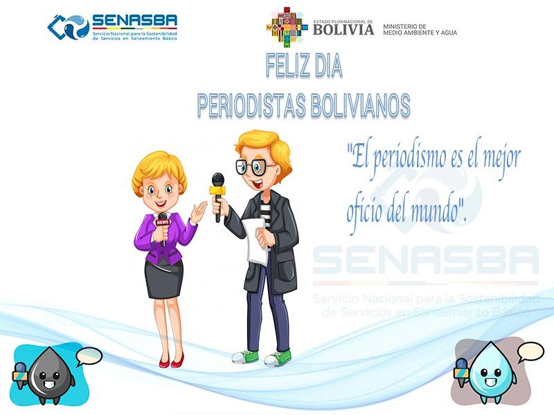 DÍA DEL PERIODISTA BOLIVIANO