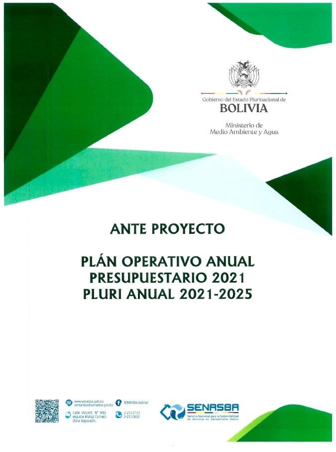 POA Presupuesto 2021