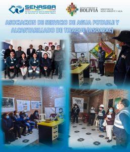 ASOCIACIÓN DE SERVICIO DE AGUA POTABLE Y ALCANTARILLADO DE TIRAQUE (ASOAPAL)