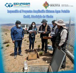 INSPECCIÓN AL PROYECTO AMPLIACION SISTEMA DE AGUA POTABLE VIACHA