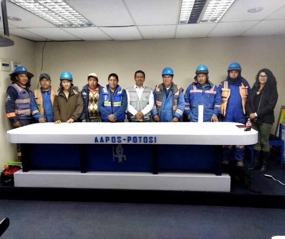 SENASBA capacita a operadores de AAPOS en temáticas de gestión técnica ambiental