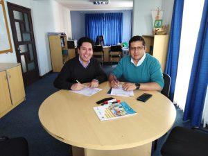 SENASBA firma convenio de cooperación interinstitucional con la prestadora potosina AAPOS