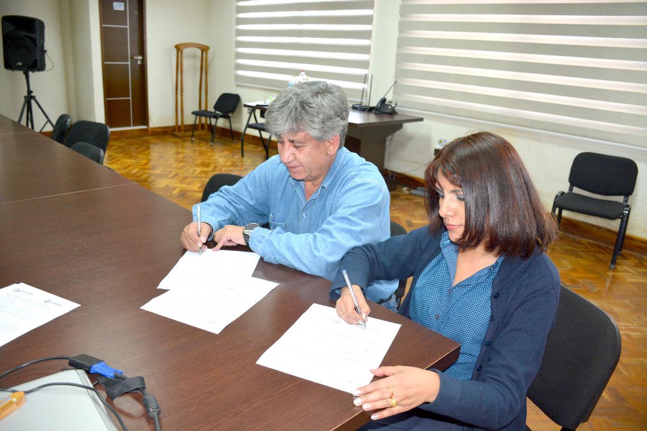 SENASBA y ELAPAS firman convenio de cooperación interinstitucional