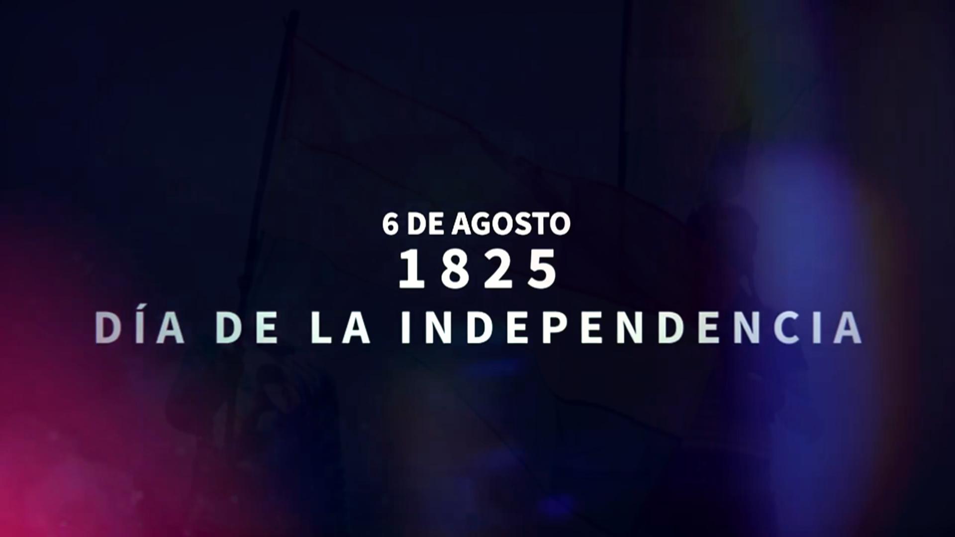 DÍA DE LA INDEPENDENCIA DE BOLIVIA